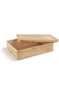 Syramu Handcrafted Bamboo Storage Box